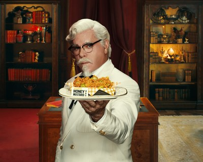 KFC Taps Actor Ray Liotta as New Colonel…the First to Find Himself Torn Between Two Signature Flavors: Georgia Gold Honey Mustard BBQ and Nashville Hot