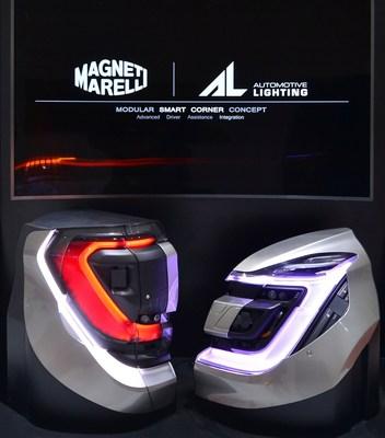 "Modular ""Smart Corner"" Concept by Magneti Marelli (PRNewsfoto/Magneti Marelli SpA)"