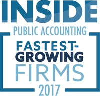 INSIDE Public Accounting 2017 rankings released; Siegfried recognized as the fastest-growing and the 30th largest CPA firm in United States