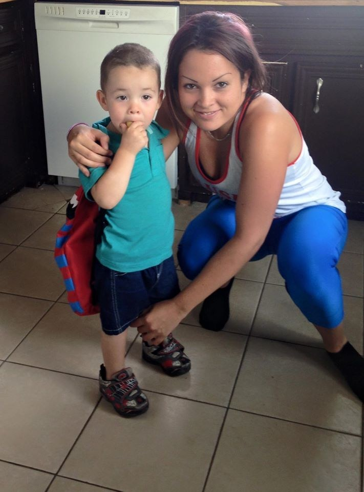 Geneviève Morel was six months pregnant when she had a stroke (CNW Group/Heart and Stroke Foundation)