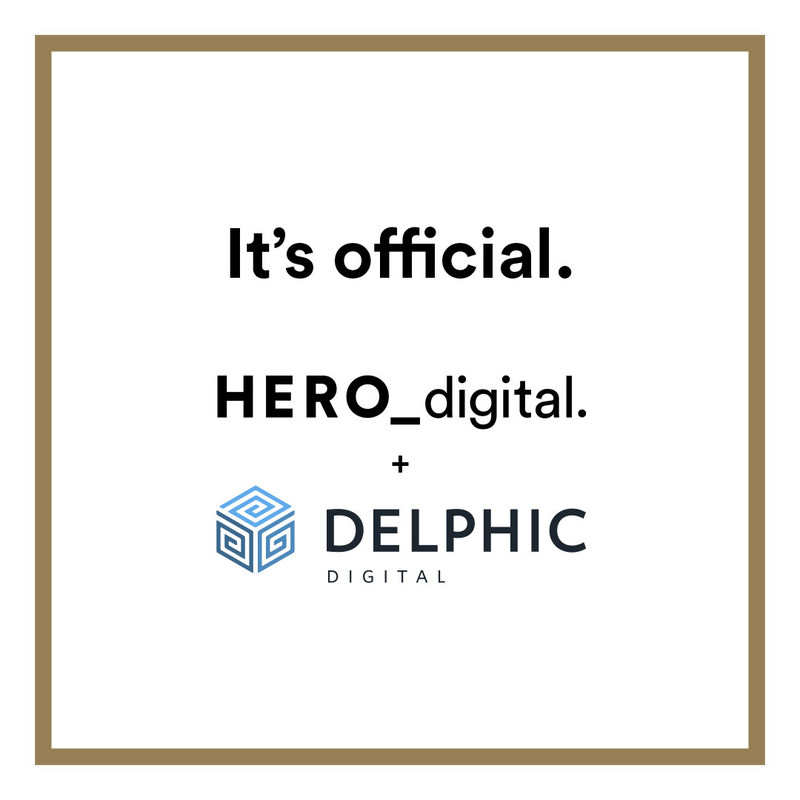Hero Digital announced today it has completed the acquisition of Delphic Digital, a three-time Inc. 5000 digital marketing and web design agency.