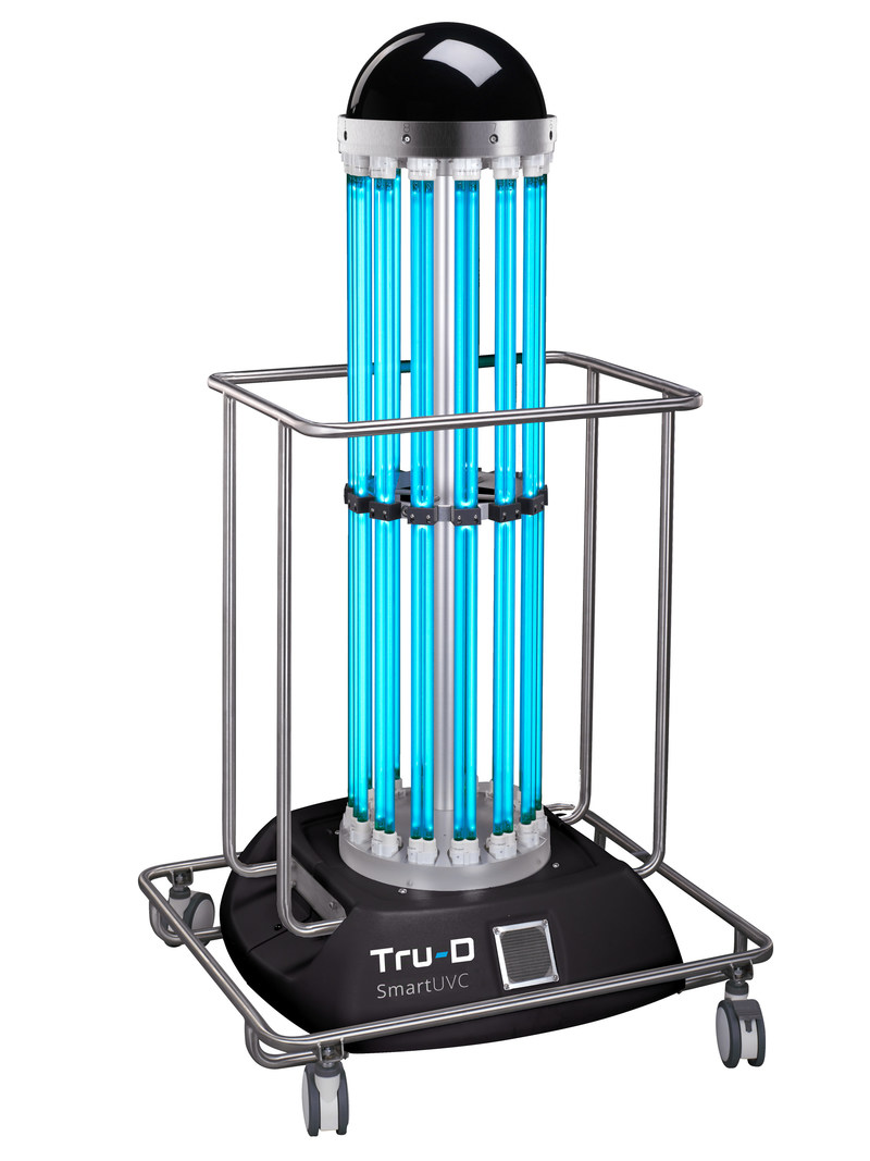 Tru-D SmartUVC total room ultraviolet disinfection robot