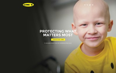 """LINE-X, a global leader in powerful protective coatings, renowned spray-on bedliners and first-rate truck accessories, is embarking on a mission against childhood cancer, joining St. Jude Children's Research Hospital® as an official partner. With a mantra of """"protecting what matters most,"""" the company is kicking off collaborative efforts with the launch of a major fundraising campaign across North America – coinciding with Childhood Cancer Awareness Month (CCAM), which runs every September."""