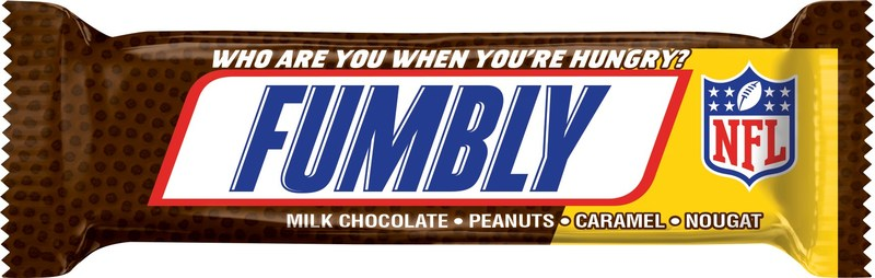 SNICKERS Fumbly.