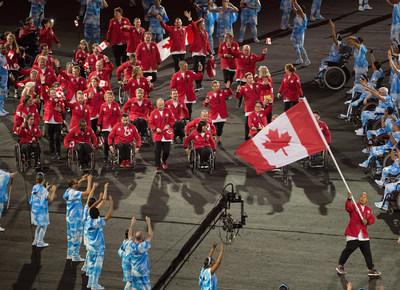 Le consortium médiatique de diffusion paralympique canadien a gagné le prix des médias paralympiques 2017 dans la catégorie de diffusion pour sa couverture des Jeux paralympiques de Rio 2016. (Groupe CNW/Comité paralympique canadien (CPC))