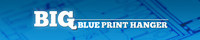 Big Blue Print Hanger - Blueprint Storage Racks