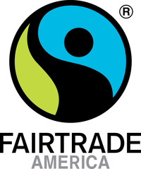 Fairtrade America licenses the FAIRTRADE Label, the world's most recognized and trusted ethical certification. Fairtrade's rigorous social, economic and environmental standards help farmers and workers, traders and companies create more sustainable supply chains and improve livelihoods. (PRNewsfoto/Fairtrade America)