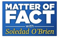 """Logo for Hearst Television's nationally distributed weekend program """"Matter of Fact with Soledad O'Brien"""" (PRNewsfoto/Hearst Television)"""