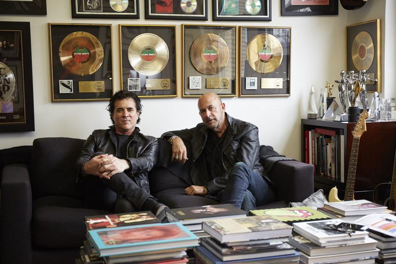 Big Machine Label Group President/CEO Scott Borchetta and fashion designer John Varvatos