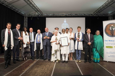 "The winners of the One World Award 2017 show how diverse ""one world"" can be and what impact the activities of individual people can have. (PRNewsfoto/One World Award)"