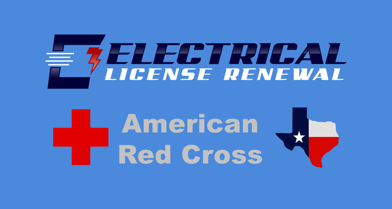 Contribute to the cause just by living your life! Any TX electrician who does their annual Electrical License Renewal with ElectricalLicenseRenewal.com will have 100% of their money that we receive given to the American Red Cross for hurricane recovery efforts in Texas. This effort continues through the October hurricane season in hopes that Hurricane Irma, Jose, and others do not make it worse. All you have to do is take your Texas Electrical CE with us by the end of October 2017 to help out!