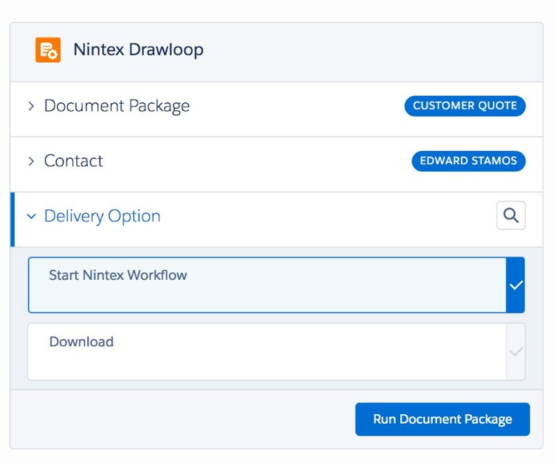 The Nintex Drawloop Summer 2017 Release enables Salesforce customers to use the full breadth of Nintex Workflow Cloud® capabilities to automate and optimize content creation and collaboration processes. (PRNewsfoto/Nintex)