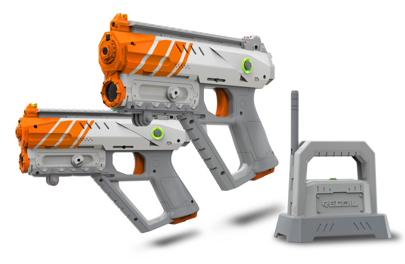 Kids Declare Skyrocket's New RECOIL Laser Tag Gaming System A Top Toy For 2017