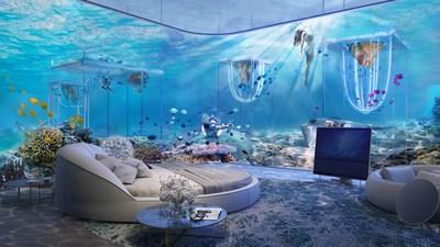 Floating Venice underwater Ca d'Oro Cabin (PRNewsfoto/Kleindienst Group)