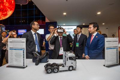 Foton Motor VR experience at China Pavilion of Expo 2017 Astana
