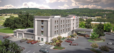 The new Hampton Inn - Bulverde in the Texas Hill Country is now open!