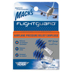 McKeon Products, Inc. introduces the new Mack's® Flightguard® Airplane Pressure Relief Earplugs, offering flyers a more comfortable flight experience