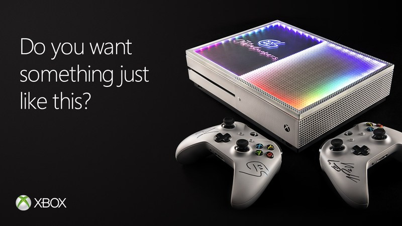 Xbox partners with The Chainsmokers on one-of-a-kind Xbox One S custom console