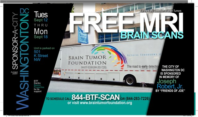 Mobile MRI Unit coming to Washington DC