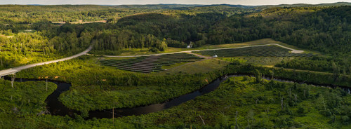 Old Sturbridge Village's 1.8 MW solar ground mount