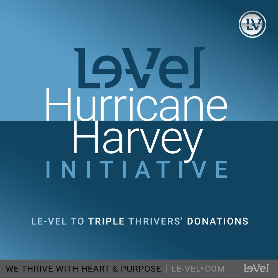 Le-Vel is proud to present Americares with a donation of more than $430,000 to address the urgent medical needs of Hurricane Harvey survivors.