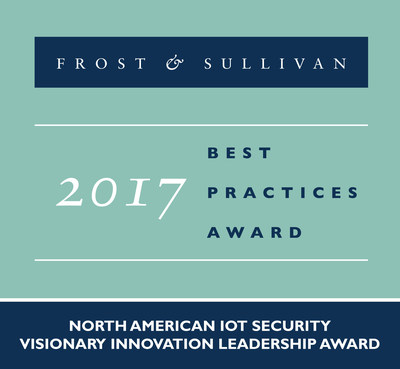Frost & Sullivan recognizes DigiCert with the 2017 North American Visionary Innovation Leadership Award.