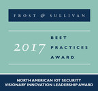 Frost & Sullivan Recognizes DigiCert with its 2017 North American Visionary Innovation Leadership Award for Internet of Things Security