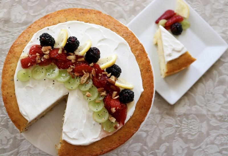 "Fruit & Yogurt Smoothie Bowl Cake by Lisa Keys of Pennsylvania - Eggland's Best ""Foodtography"" Contest Grand Prize Winner"