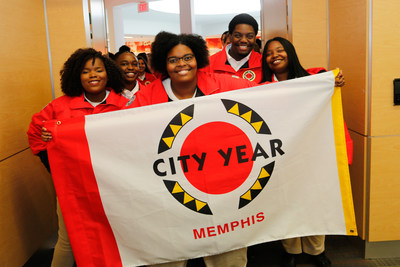 Forty City Year Memphis AmeriCorps members kick off a year of full-time service in Memphis schools.