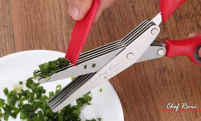 Chef Remi Herb Scissors