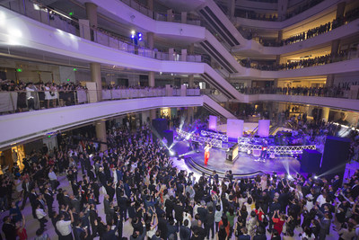 Plaza 66 gave the more than 2,000 guests an unforgettable night of lavishly curated luxury.