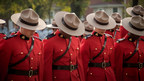 RCMP members mourning the loss of their fallen colleagues during the 2017 RCMP National Memorial Service today. (CNW Group/Royal Canadian Mounted Police)