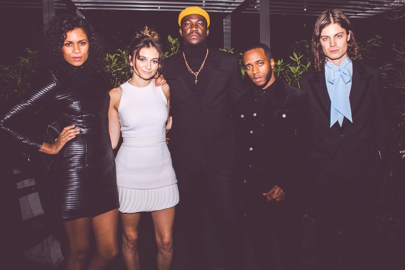 Photo by Catherine Powell. L to R: AlunaGeorge, Daya, Jacob Banks, 6LACK, BØRNS