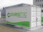 The Flywheel Energy Storage System DuraStor® by STORNETIC is designed for industrial customers with many charging and discharging cycles. (PRNewsfoto/STORNETIC)
