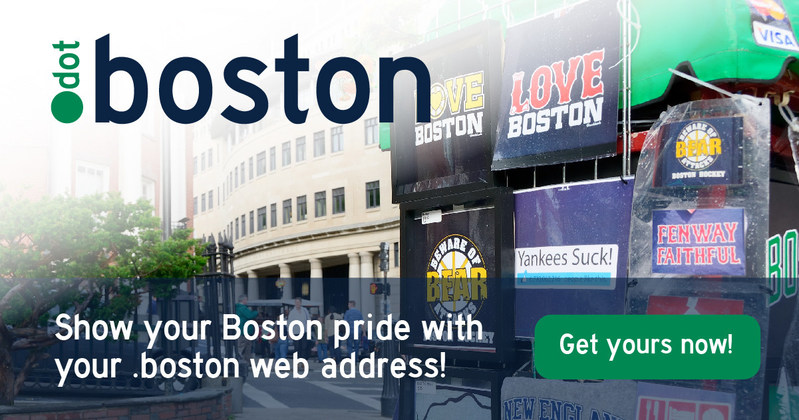 Don't miss out on your .boston.
