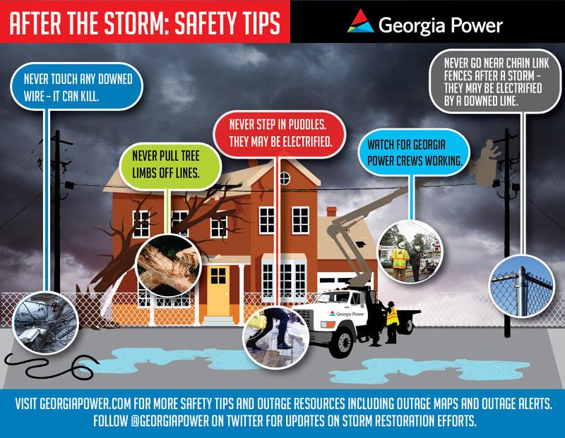 Important safety tips from Georgia Power as Hurricane Irma moves through Georgia.