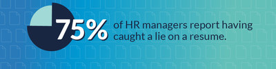 75 Of Hr Managers Have Caught A Lie On A Resume According To A