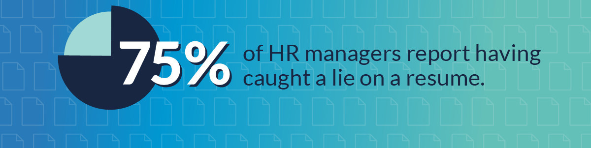 75% of HR Managers Have Caught a Lie on a Resume, According to a ...