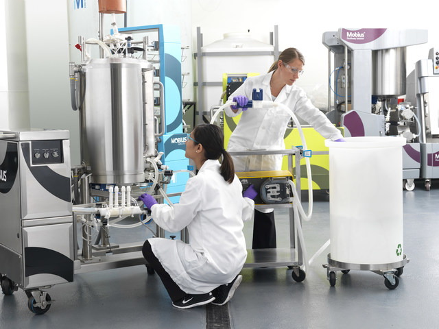 Merck's extensive portfolio of single-use technologies allows the company to support customers like Celonic as they adopt new technologies and expand their capabilities (PRNewsfoto/Merck)