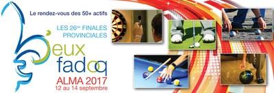 26es finales provinciales des Jeux FADOQ : 1500 participants en action à Alma (Groupe CNW/FADOQ)