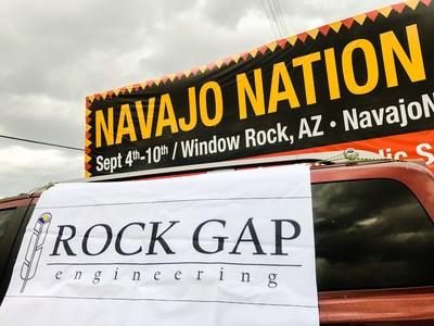 Rock Gap Engineering participa en el Desfile de la Nación Navajo, construyendo una red de iniciativa empresarial (PRNewsfoto/Rock Gap Engineering)