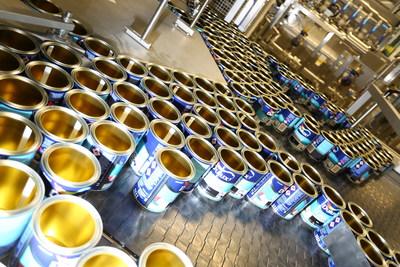 AkzoNobel, Ashington is the new centre of production for Dulux, the UK's most popular paint brand. (PRNewsfoto/AkzoNobel)