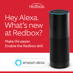 Now Available: Just Ask Alexa What's New at Redbox