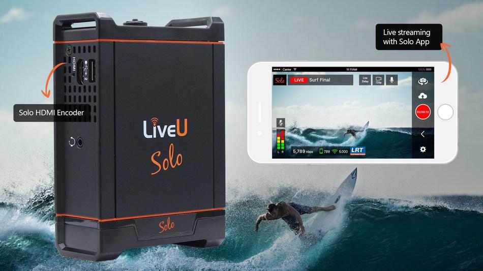 The new LiveU Solo HDMI encoder and iOS app