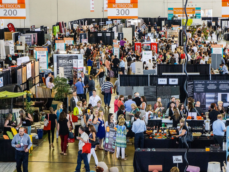 Manufacturers, fabricators and service providers catering to the education, healthcare, hospitality, institutional, multifamily, residential, retail, and workplace design sectors filled 36,000+ SF of exhibit space, showing and/or sponsoring under 277 names.