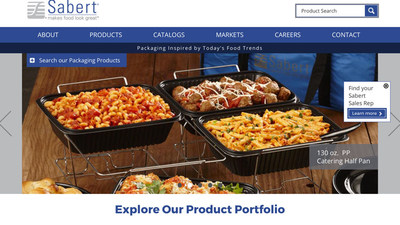 Sabert Corporation Launches Redesigned Website