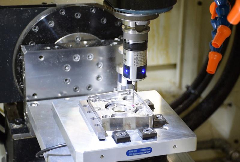 HEIDENHAIN Touch Probe at FANUC America machining training center