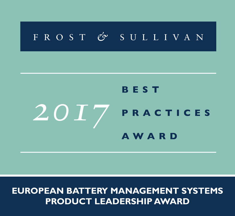 Frost & Sullivan recognizes Victron Energy BV with the 2017 European Product Leadership Award.