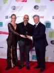 Natalia Denegri Celebrates Her Win As Film Producer At The Burbank International Film Festival