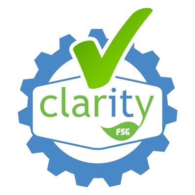 Offical ?Works with Claritytm? logo.